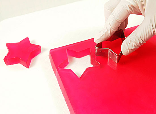 cut out large red stars