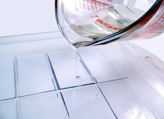 pour clear soap