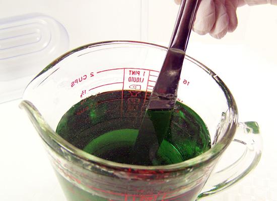 stir to mix well