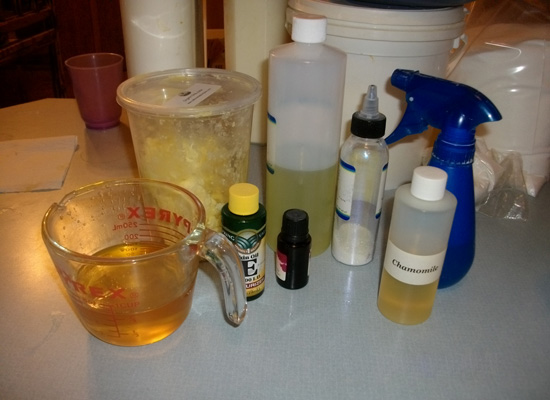 gather wet ingredients