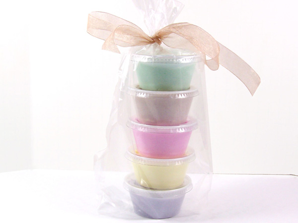 gift wrapped holiday sugar scrub sample pack
