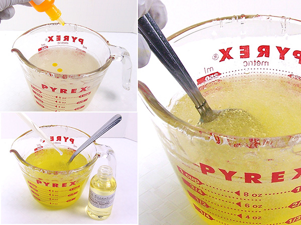 how to make clear jelly soap