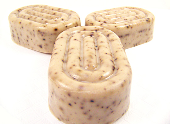 look at this lovely soap - perfect for removing kitchen odors
