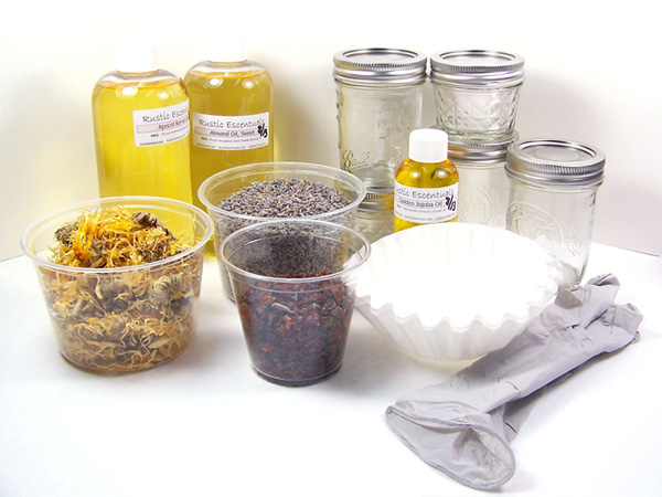 supplies need to make infused oils