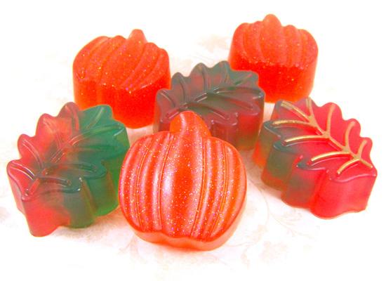 festive fall soaps