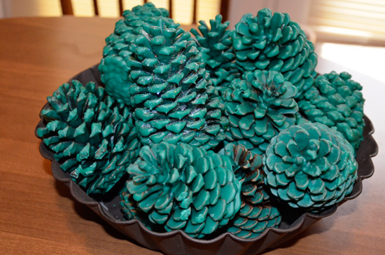 pinecone forest!