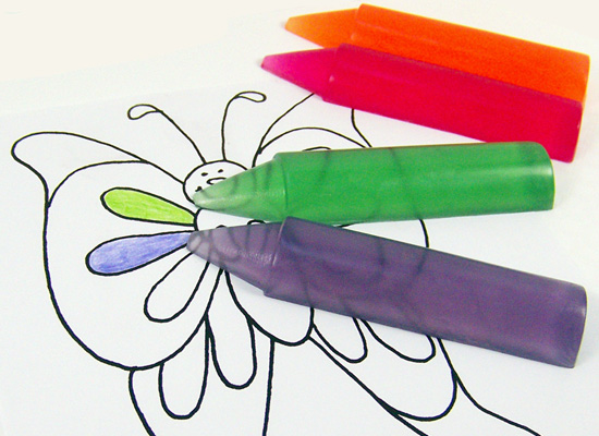 handmade crayon soap - perfect school gift for your favorite teacher!