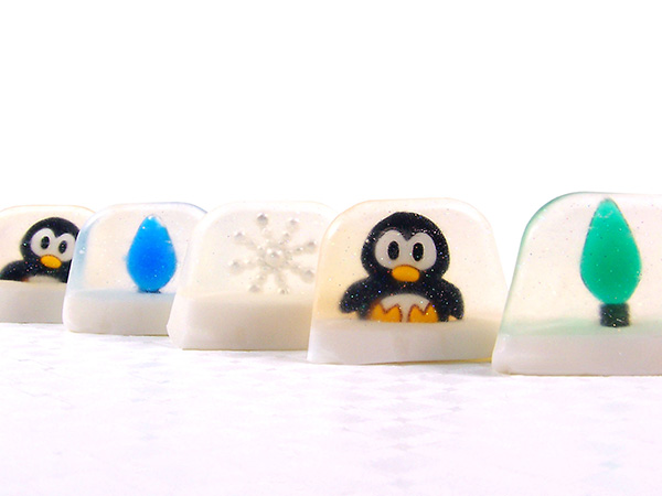 Snow Globe Soaps - Rustic Escentuals Crafting Library