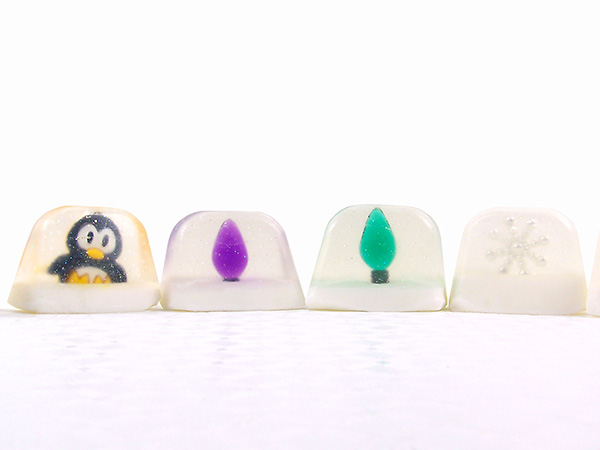 fun and festive little soaps!