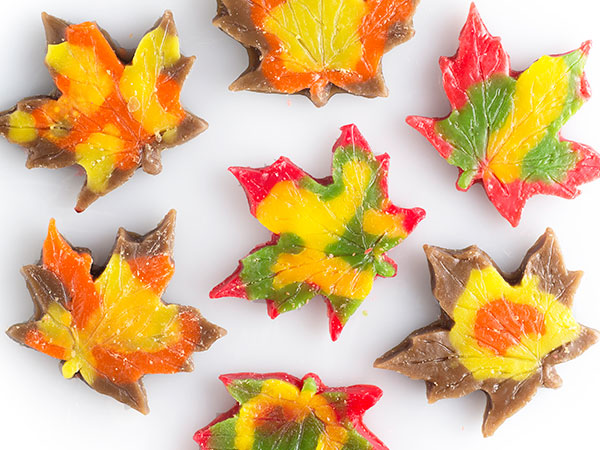 fall leaves tarts
