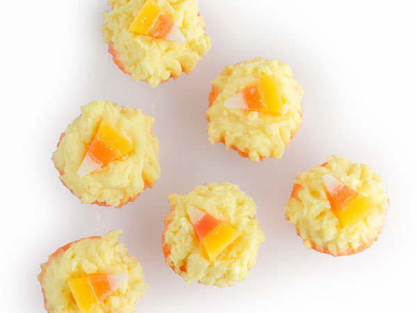 candy corn tarts