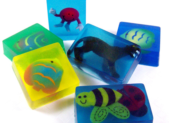 fun soap that kids will love using!