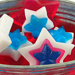 How to Make Cookie Cutter Star Soaps