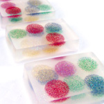 Floating Holiday Dots Soaps