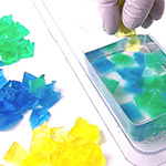 Jelly Soap Embeds into Melt and Pour Soap Tutorial