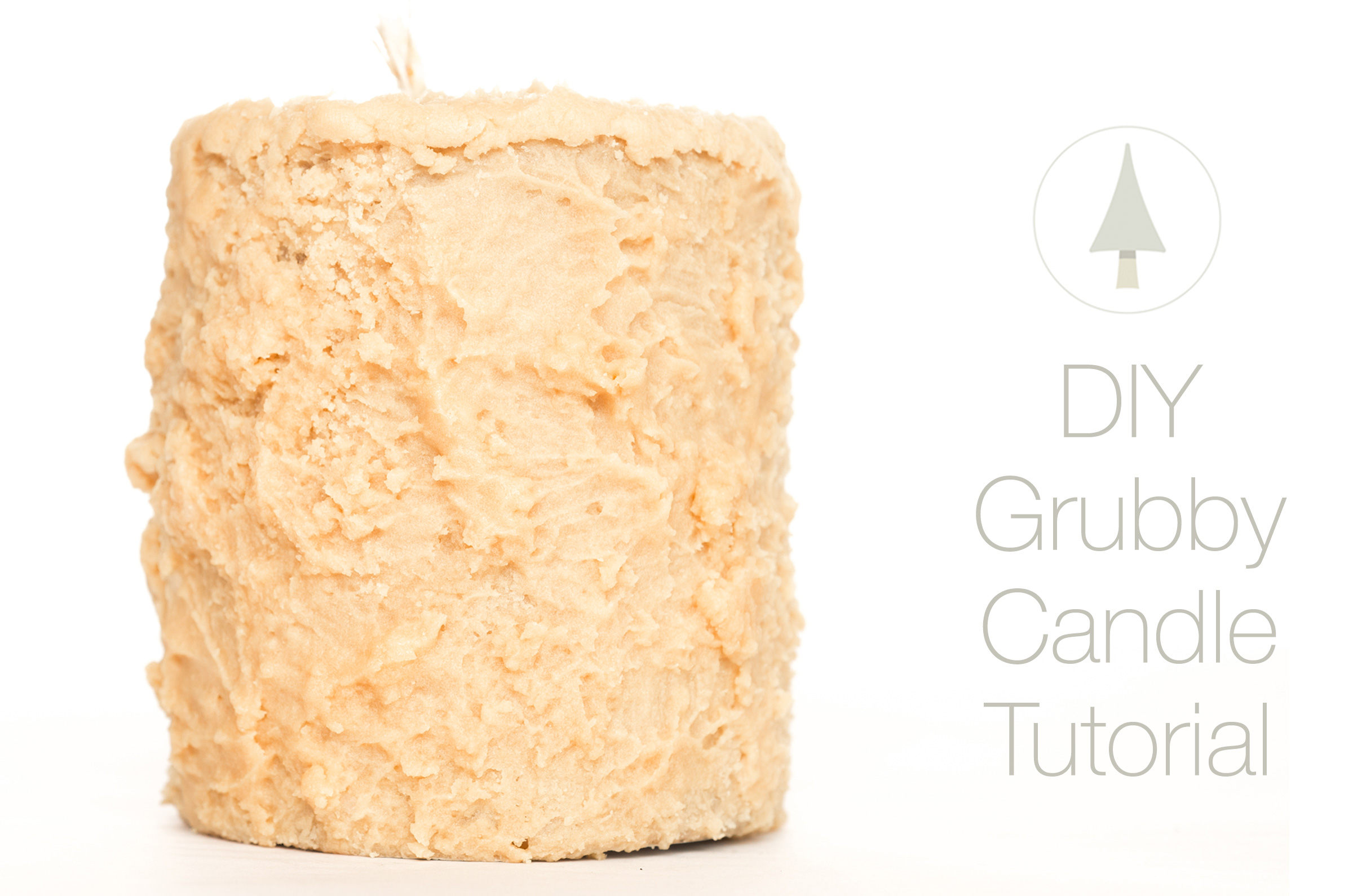 learn to make grubby candles