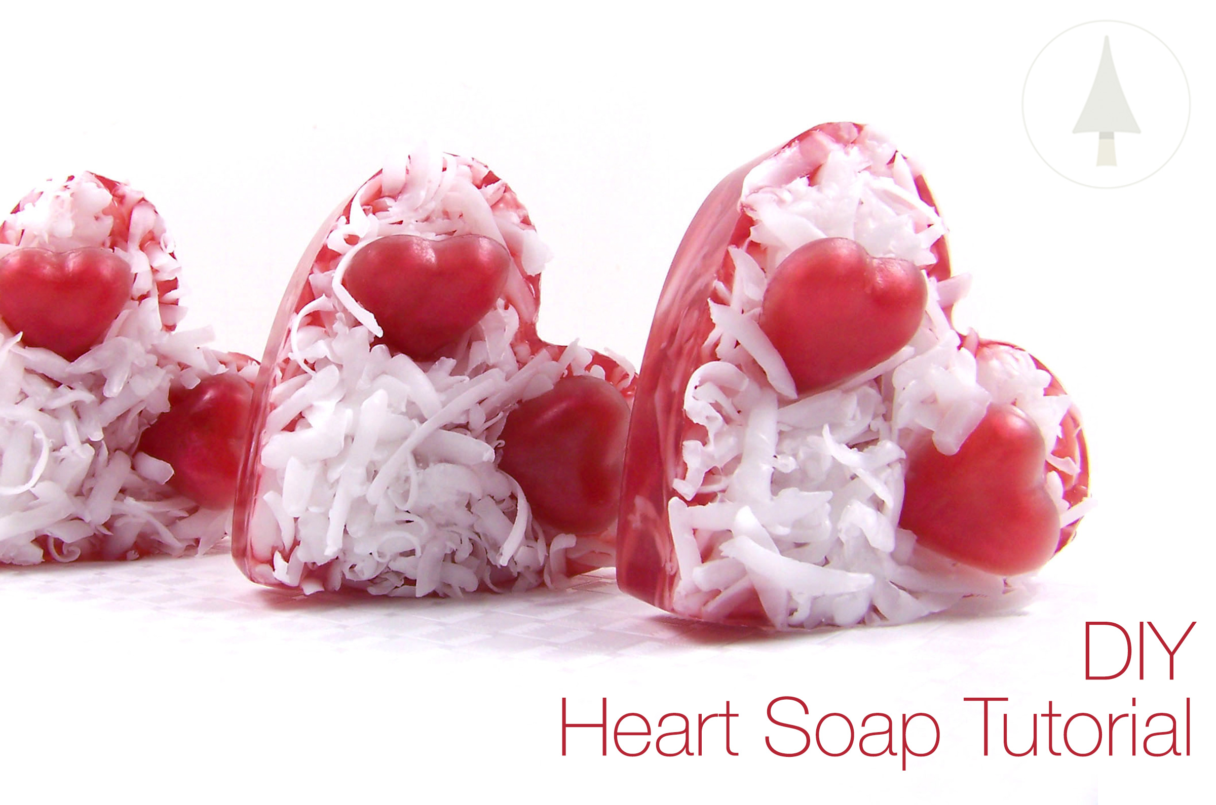 quick and easy heart soap tutorial