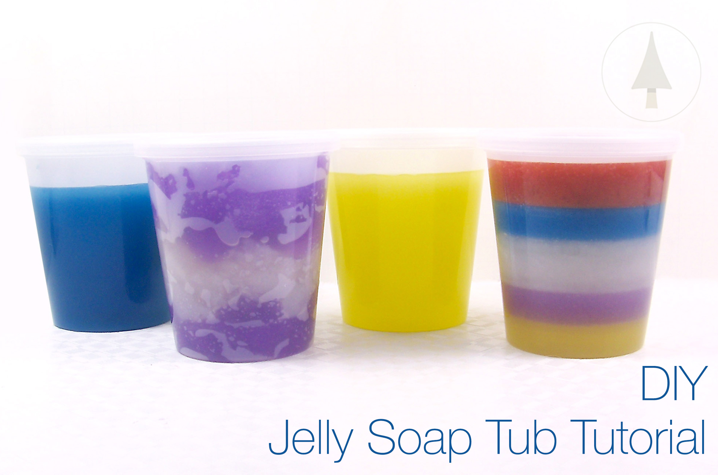 how to make tubs of jelly soap