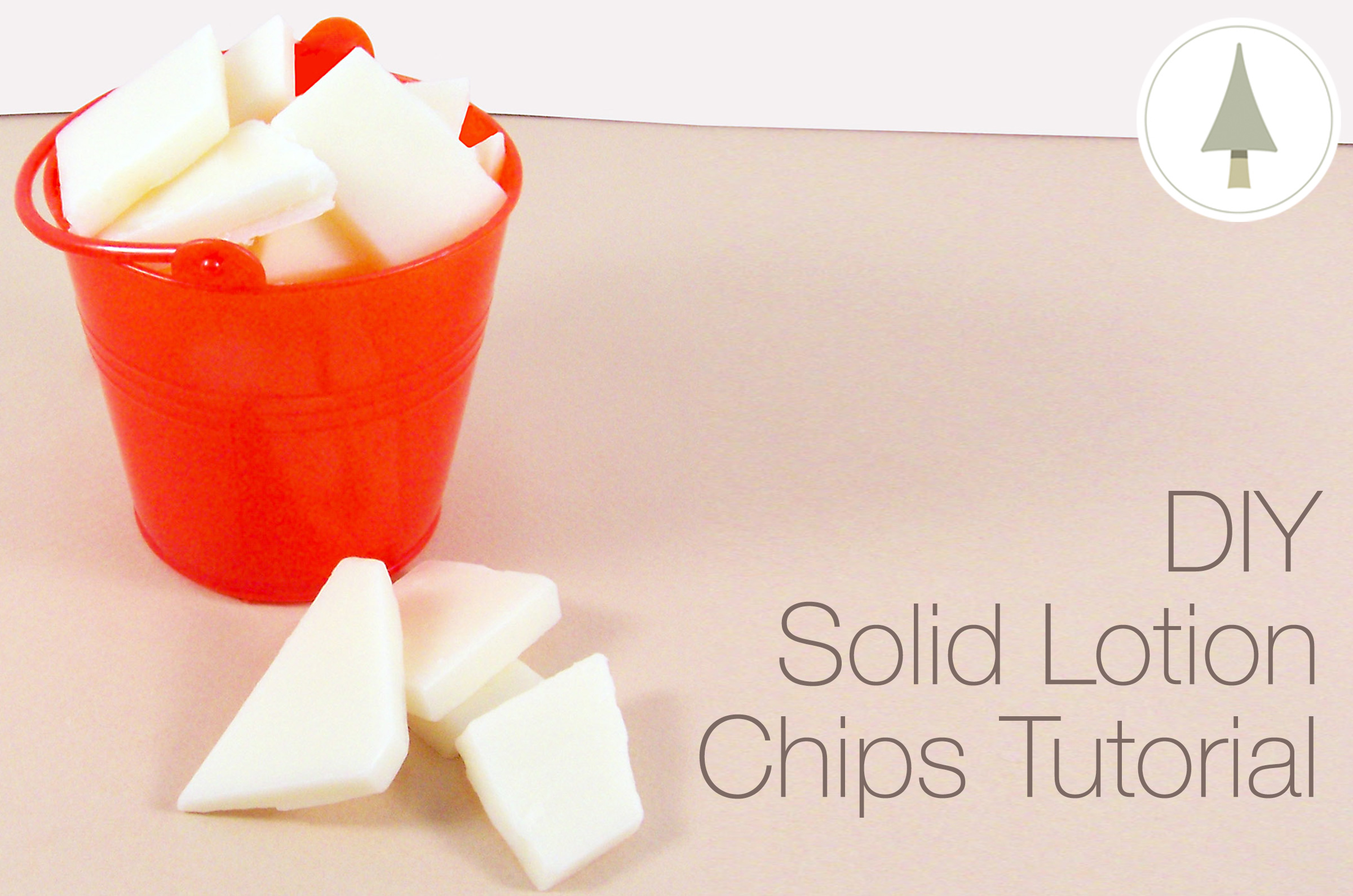 lotion bar chips