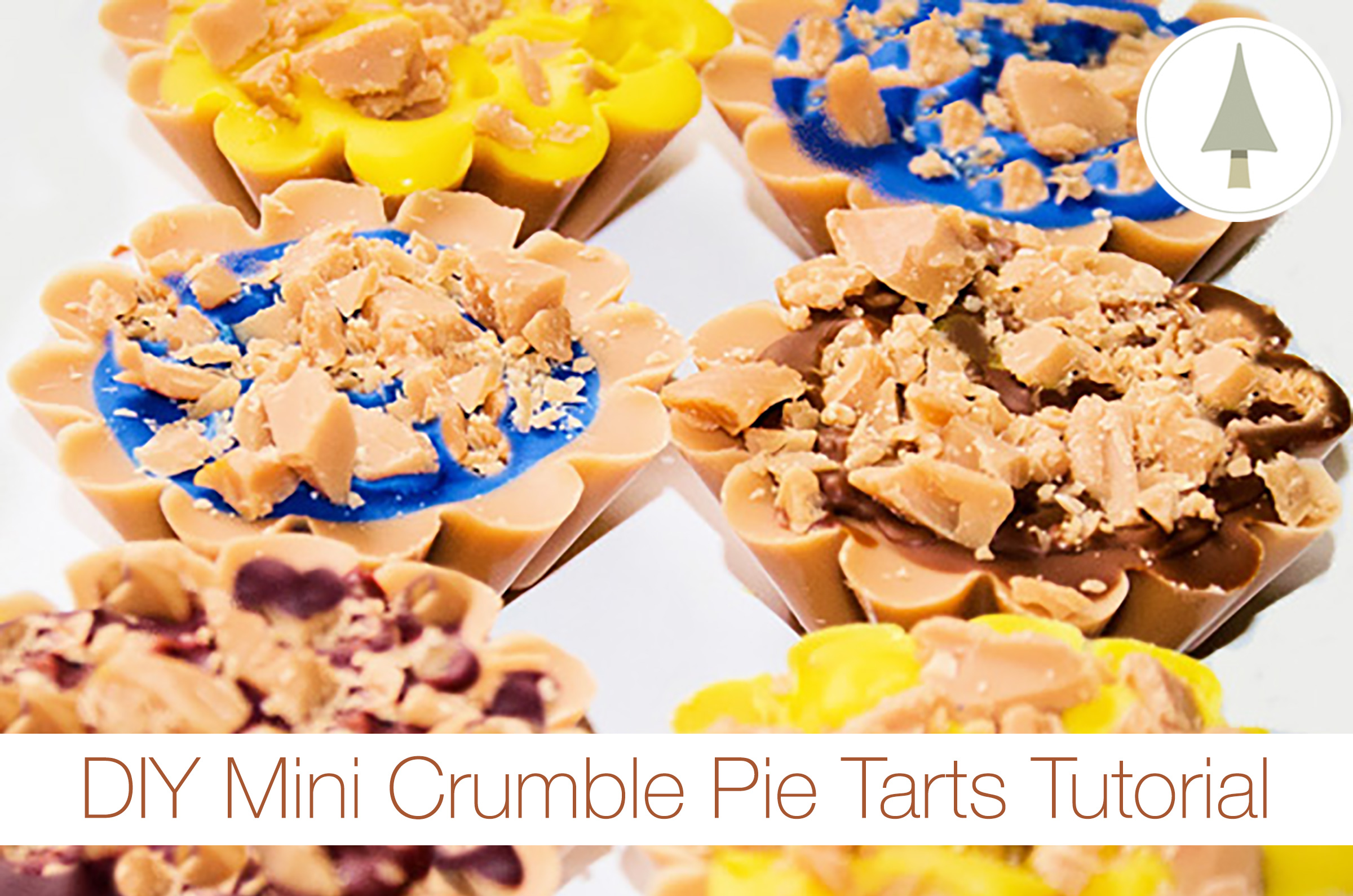 mini crumble pie tarts