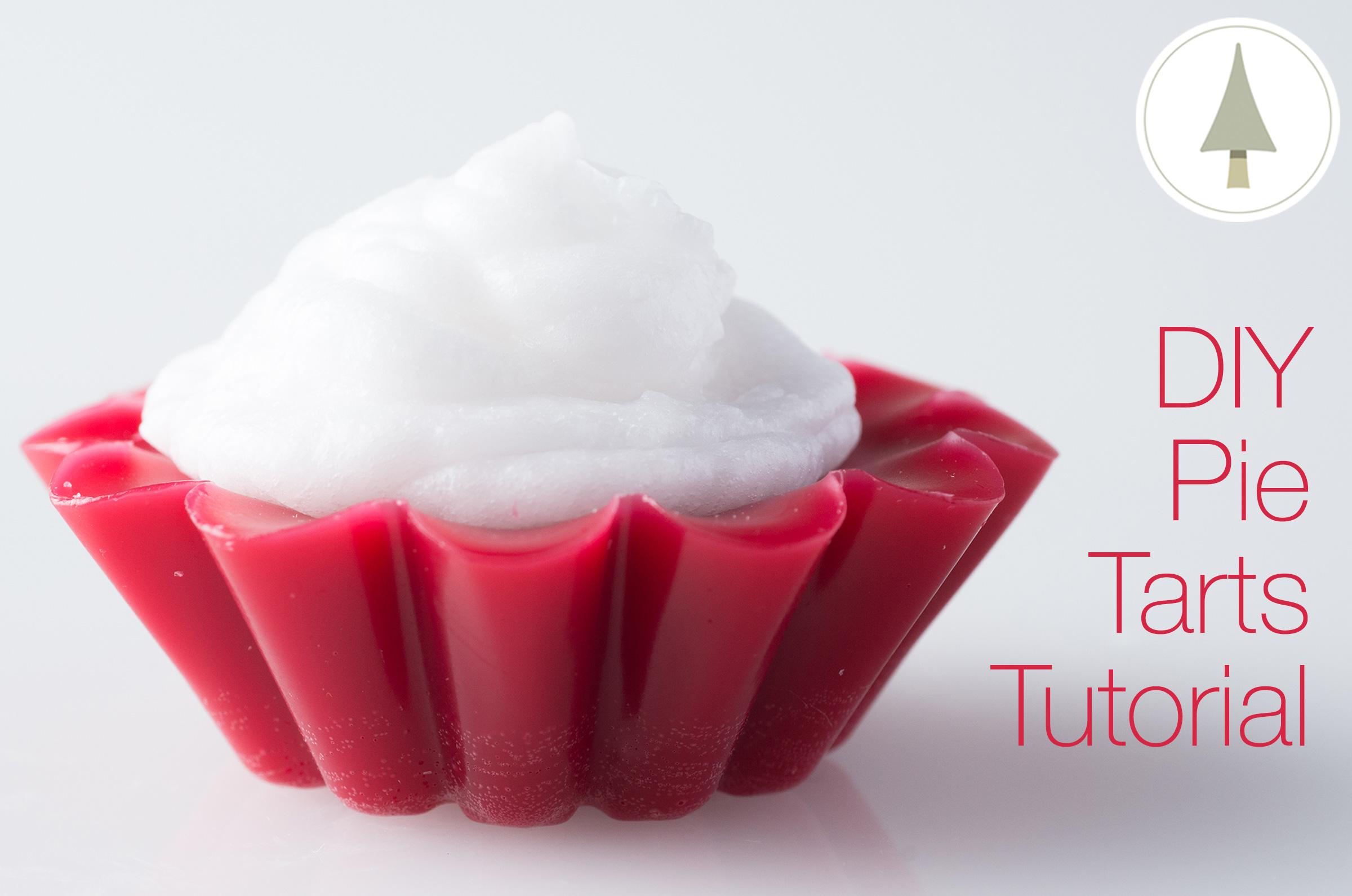 make yummy candle pie tarts