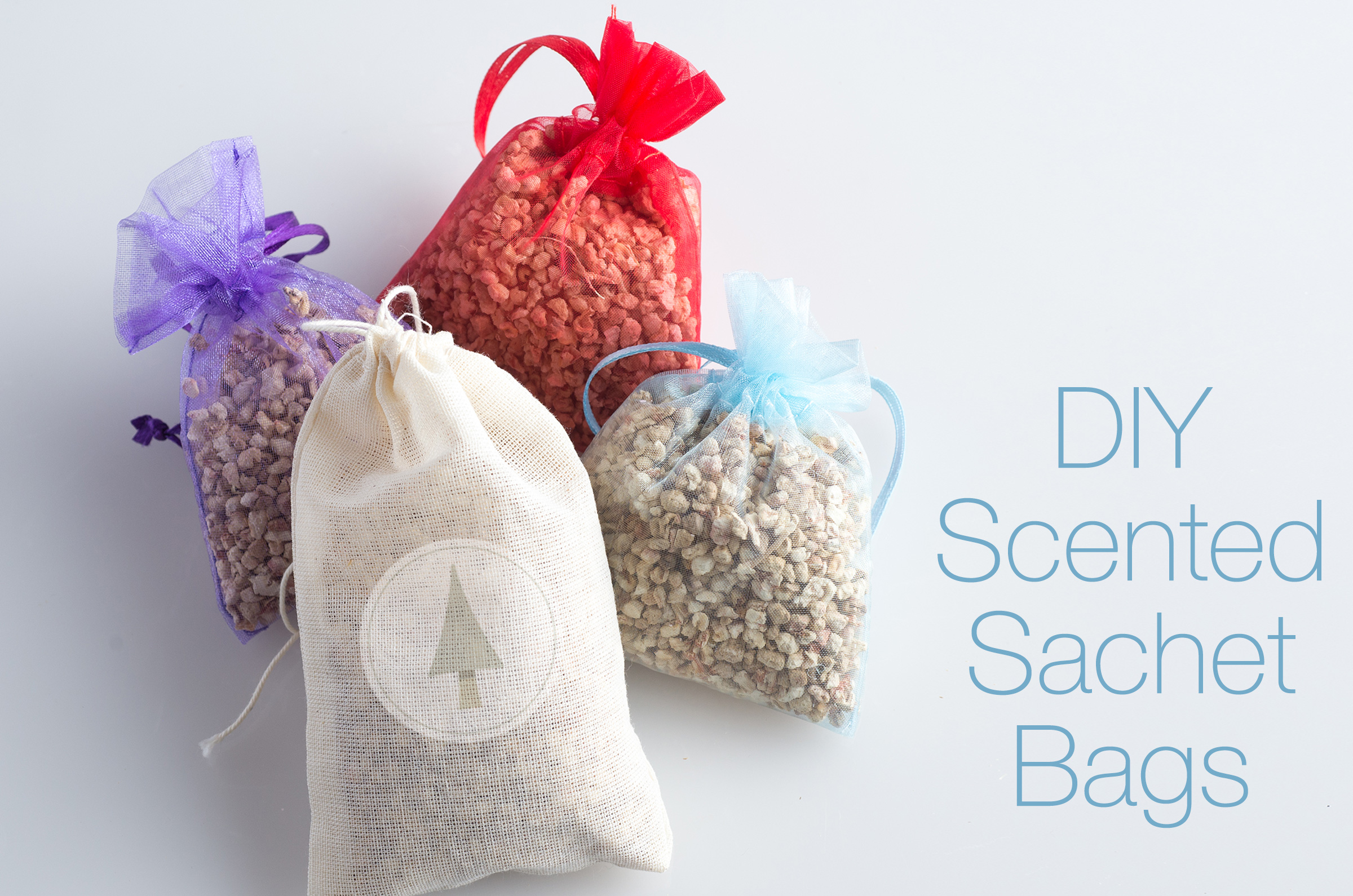 scented sachet in organza bags