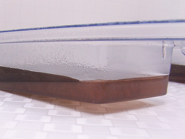 slanted layer cooling