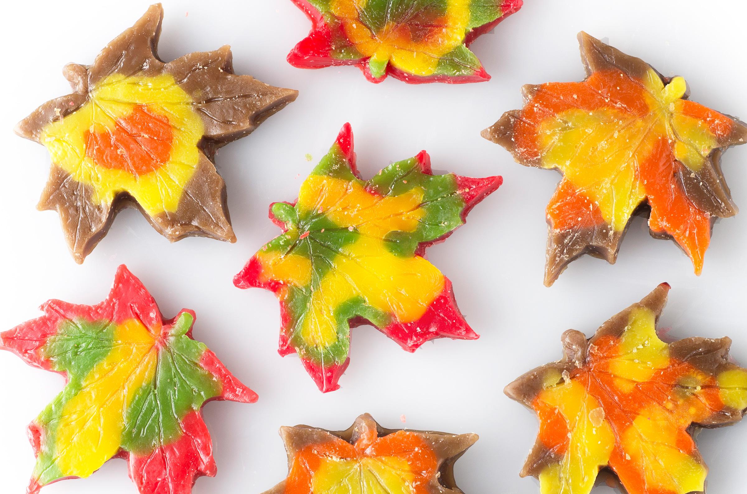 fall leaves tarts