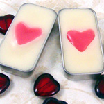 How to Make Heart Lip Balm Tins