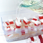 Peppermint Candy Soap Loaf